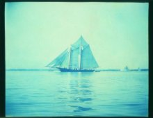 Schooner, late 1800s photo by Edward W. Smith. Courtesy George Zachorne.