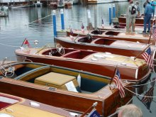 Les Cheneaux Islands Antique Wooden Boat Show