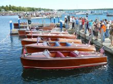 Antique Wooden Boats photo