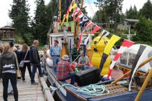 Pender Harbour Days. Photo by Judy R. (2016).