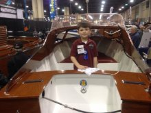 Blue Ridge Chapter of ACBS at the Upstate South Carolina Boat Show.