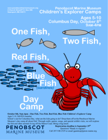 One Fish, Two Fish, Red Fish, Blue Fish Children's Explorer Camp