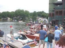 Portage Lakes Antique Boat Show