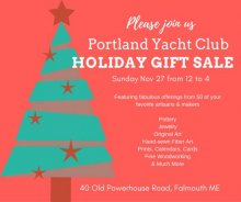 Holiday Craft Fair at Portland (Maine) Yacht Club