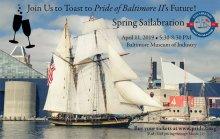 PRIDE OF BALTIMORE II Spring Sailabration