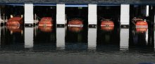 boathouse on Lake Winnipesaukee