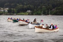 Poulsbo Boat Rendezvous in Liberty Bay