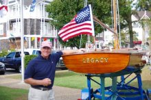 Annual Roanoke Island Maritime Museum Wooden Boat Show.