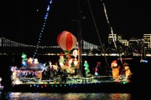 Sausalito's 31st Annual Lighted Boat Parade and Fireworks