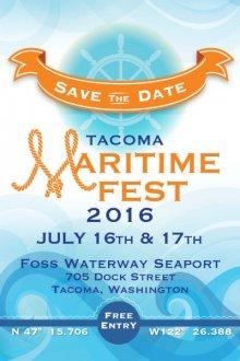 Tacoma Maritime Fest poster.