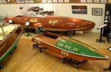 New Hampshire Boat Museum's exhibits.