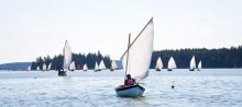 The annual Small Reach Regatta in Maine. Photo by Rosemary Wyman.