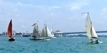 Sailing Sarasota Bay.