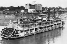Exhibit: Photographs of 1800s Steamboats Built at Metropolis, Illinois.