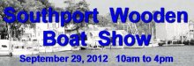 Southport Wooden Boat Show on September 29, 2012