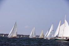 The start of a the MoY Classic Yacht Regatta, Race Two