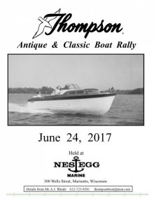Thompson Antique & Classic Boat Rally