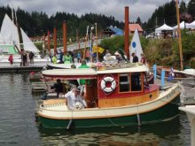 Port of Toledo, Oregon, Wooden Boat Show