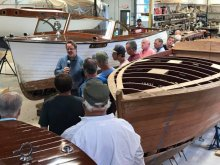 Saturday Shop Talk at Tumblehome Boatshop