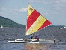 Homebuilt boat