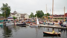 WoodenBoat Show at Mystic Seaport