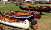 Wooden Canoe Heritage Association Assembly. Photo: Ruth Gray (2012).