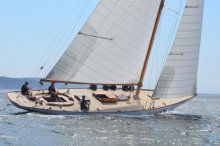 MARILEE, Herreshoff NY-40. File photo, The Ellsworth American.