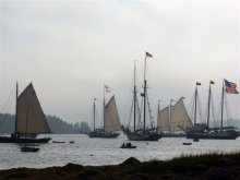 Windjammers at WoodenBoat