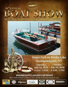 Wine Country Classic Boats 38th Annual Antique Boat Show