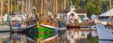 44th Annual Port Townsend Wooden Boat Festival. Photo: Michel Osborne.
