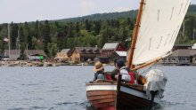 Wooden Boat Show and Summer Solstice Festival