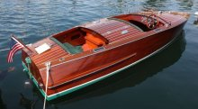 Wooden Classic Boat.