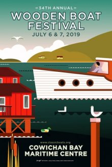 Cowichan Bay Maritime Centre's 34th Annual Wooden Boat Festival