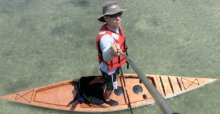 F1430 Fishing Kayak sit-on-top stitch and glue kit.