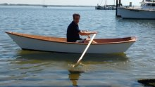 Echo Bay Dory Skiff