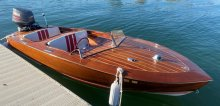 tricked out plywood kit boat  ZipKit