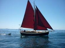 """Kadimah"", a 32' Kahuna sailing in Australia"