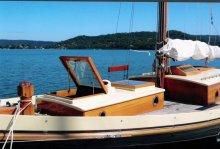 Spacious deck aboard Kadimah