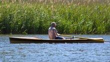 Noank Pulling Boat, Strip Built, Sliding Seat, Coastal, Rowing Boat