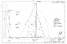 K-48 Daysailer Sail Plan
