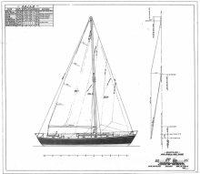 Saraband sail plan