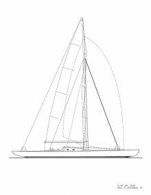 K-60 Sail Plan
