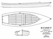 Egret: A Wetlands Punt
