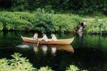 Skerrieskiff 17' rowing