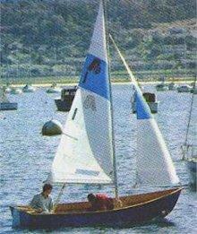 Argie 15 3:1 plywood dinghy
