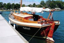 Kahuna at the dock
