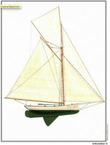 Half Model Plan SHADOW sail plan