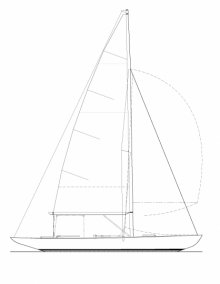 K-5m Sail Plan