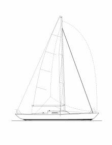K-39 Sail Plan