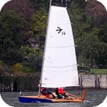 The Blitz420 sportive dinghy